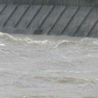 大雨洪水警報中