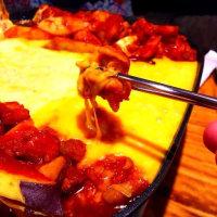 とろ~りチーズのチーズタッカルビ