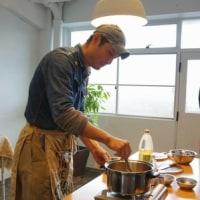 齊藤さんのカレーを作って木の器で食べる会♪