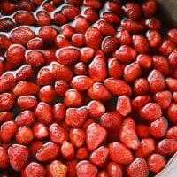 苺ジェリー・苺シロップ