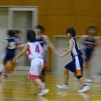 11月12日 バスケ部女子 対志度中戦