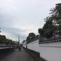萩城下町!