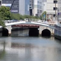 2017・6・28 テキトーに渡るおばさんの橋 横浜の架替関東大震災復興橋梁・岡野橋