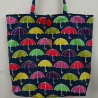 傘とパッチワーク