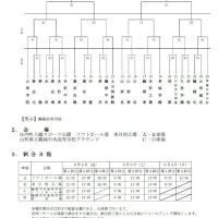 【速報】2017山形県インターハイ予選組み合わせ