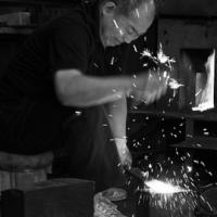 伝統的工具*越後与板の鑿(のみ)