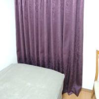 寝室カーテン施工例!