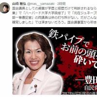 自民党:豊田真由子/議員の資格なし。すぐにやめろ!