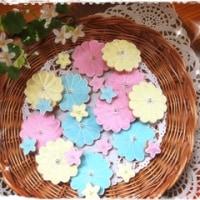 アイシングクッキー、第一弾!♥~お花~♥