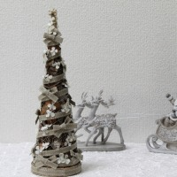♪天然素材☆コイブコーンのクリスマスツリー♪