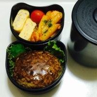 お弁当と小栗鍋