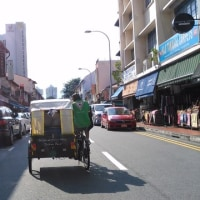 シンガポールのトライショー(人力自転車)はとてもオススメ!