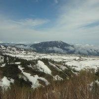 最後の雪の大谷&雷鳥