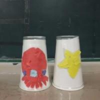 小学部5年生 図工「ランプシェードづくり」