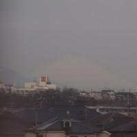 2017年3月23日,今朝の富士山