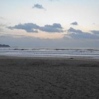 1月22日御宿海岸