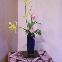 レンギョウの瓶花