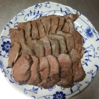 鹿肉料理第1弾