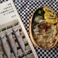 大槌新巻鮭と長いもの梅炊き込みごはん弁当