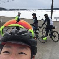チームフィンズ レースメンバー懇親会 〜 オハサイ参加 58km 小国方面まで。