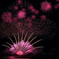 やつしろ全国花火競技大会 オープニング花火