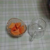 花御所柿の収穫も