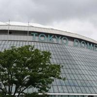 12月22日(木) 今年最後の東京ドーム