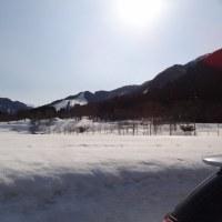 スキーシーズン最後のスキー日和となる。