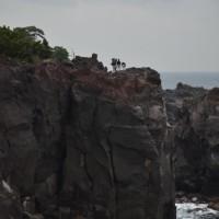 伊豆城ケ崎海岸を散策