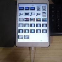 デジカメで撮った写真を、iPad mini に撮りこみたい。。。