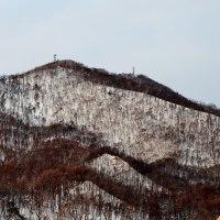 2017.01.21 AM 07:45藻岩山・平和の塔・手稲山・円山・三角山