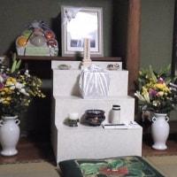 実家の祭壇