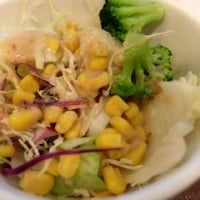 <gourmet>すき家 牛丼 とん汁たまごセット+サラダセット