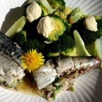 鯖のマスタード風味パピヨット
