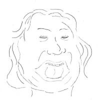 12月11日のチョコット似顔絵