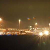 夜の仙台空港