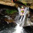 3家族withベンジャミンでいく洞窟探検&キャニオニング&バラス島シュノーケル。7月26日。