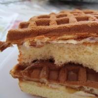 もち食感ワッフルケーキ メープル&マーガリン ヤマザキ