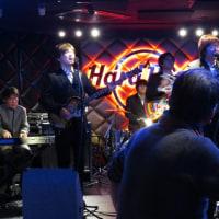 2017年3月、久しぶりのハードロック大阪でのライブ!