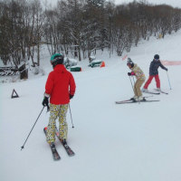30年ぶり3度目のスキー