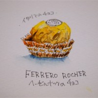 FERRERO ROCHER(ヘーゼルナッツチョコ)