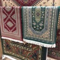 手織り玄関マット