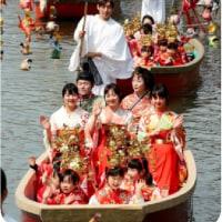 ◯【華やぐ、水上おひな様】・・・・・・・春爛漫のひなパレード 福岡・柳川