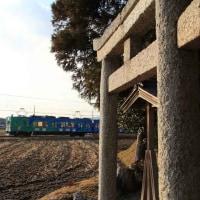 氏神様に見守られて ・ 伊賀鉄道(三重県)
