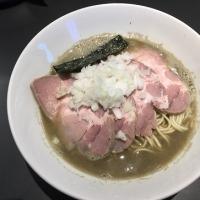 煮干乱舞(2)の肉中華そば(塩)1,000円(*^▽^)ノ♪