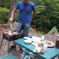 愛知県民の森でバーベキュー