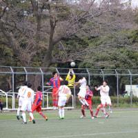 東京都U-18サッカーリーグT2 第3節 vs国士舘高等学校