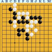 囲碁死活1158官子譜