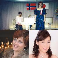 ボディルさんとコンサート オスロ市内 With Bodil at concert in Oslo