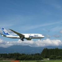 桜島と飛行機